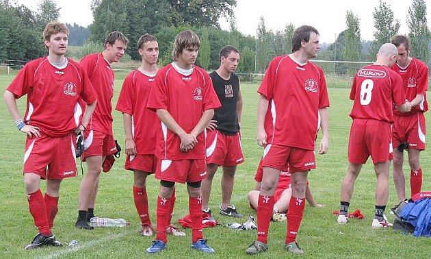Vítězný tým krátce před převzetím cen.