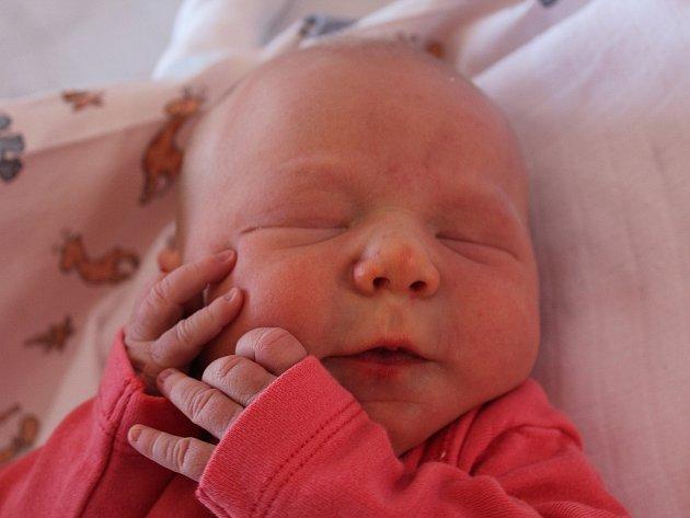 Anička Kalousová se narodila Andree Kalousové z Jílového 2. května v 8.27 v děčínské porodnici. Vážila 3,4 kg.