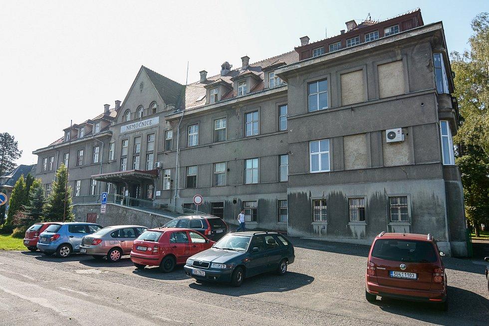 Rumburská nemocnice by měla v létě přejít pod správu Krajské zdravotní.