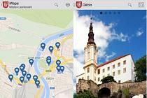 Nová mobilní aplikace města Děčín.