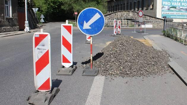 Ilustrační foto. Oprava silnic