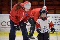 Dominika Forejtová začínala s hokejem ve Varnsdorfu, aktuálně hraje v Děčíně. Má ale zkušenosti z Kanady, v budoucnu by ráda trénovala.