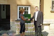 Humanitární pomoc dorazila na Děčínsko i od Lesů České republiky.