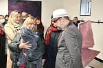 Otevření nové galerie Cifra v Doubici.