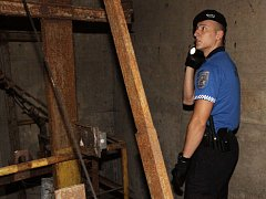 Strážník městské policie v terénu, ilustrační foto.
