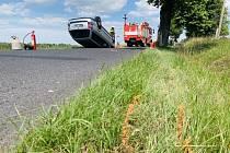 V sobotu dopoledne se stala nehoda v obci Jílové na Děčínsku.