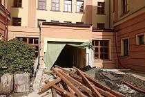 V Krásné Lípě začala přestavba školy za 35 milionů.