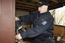 Policisté kontrolovali zahrádkářské kolonie a chatové osady.