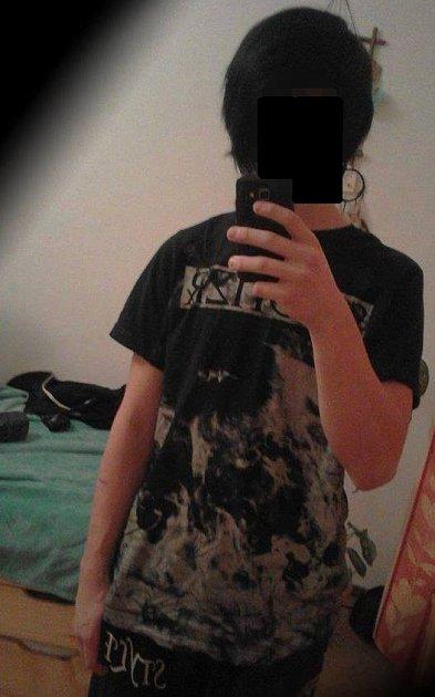 Čtrnáctiletý Daniel.