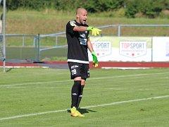RADEK PORCAL - brankář a kapitán FK Varnsdorf.