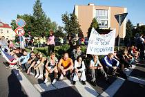 Další demonstrace ve Varnsdorfu 24.9.