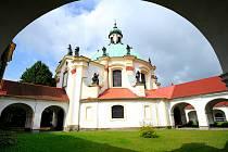 Česká Kamenice - poutní kaple Narození Pany Marie.
