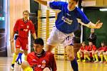 SUPER. JK Trans Varnsdorf (v modré) porazil 3:2 Jilemnici.