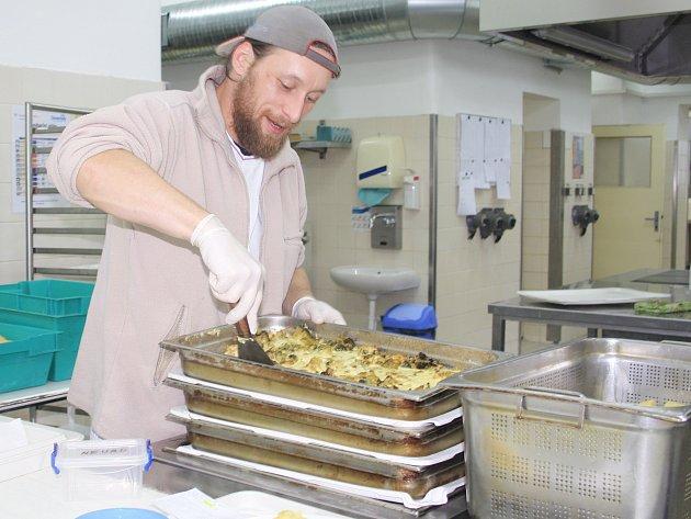Částečnou rekonstrukcí prošla během vánočních svátků kuchyně děčínské nemocnice.