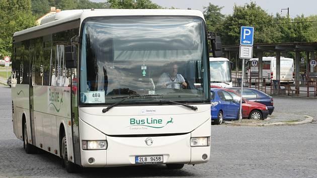 DOPRAVA NA ŠLUKNOVSKU. Autobusovou dopravu zajišťuje v současné době na Šluknovsku společnost BusLine.