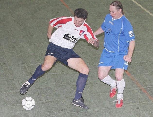 Krajská extraliga v sálovém fotbale.