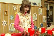 Vánoční výrobky z rukou žáků děčínských základních a mateřských škol a školních družin jsou k vidění až do pátku 5. prosince v prostorách Domu dětí a mládeže v Děčíně Letná
