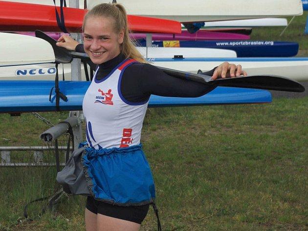 ADÉLA HÁZOVÁ se překvapivě dostala na juniorský evropský šampionát.