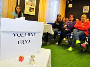 Studentské volby. Ilustrační foto.