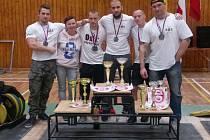 DOBRÁ PRÁCE! Reprezentanti OST Varnsdorf se zaskvěli na republikovém mistrovství. Domů si tak odvezli několik cenných pohárů.