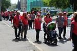 Avon pochod v Děčíně