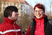 Martina Hendrychová se svou klientkou.