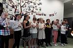 Den seniorů v režii žáků Základní školy Na Stráni.