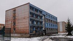 Sídliště Kovářská ve Varnsdorfu.