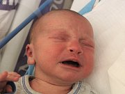 Syn Lukášek se narodil Kateřině Coufalové zDobkovic 11. ledna vděčínské porodnici. Měřil 50 cm a vážil 3,3 kg.