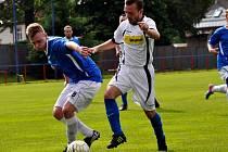 V POSLEDNÍM utkání sezóny prohrál Šluknov doma s Jílovým 1:3.