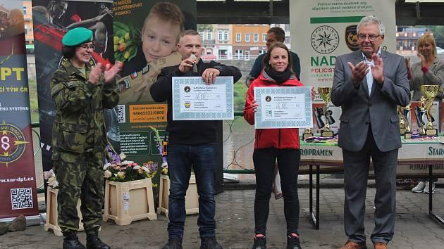 Běh pro Vojenský fond solidarity a Nadaci policistů a hasičů.