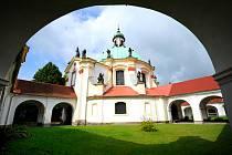 Poutní kaple v České Kamenici.