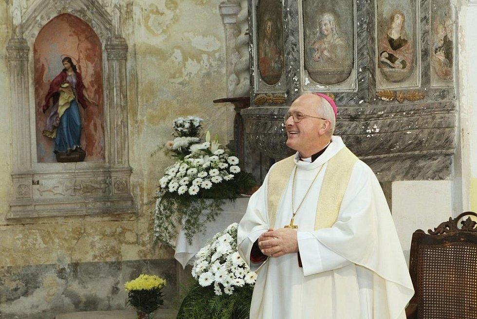 Jedlcké varhany požehnal litoměřický biskup Jan Baxant