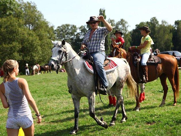 13.ročník rodea ve Varnsdorfu.