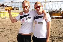 MICHAELA Vorlová (vlevo) a Karolína Řeháčková.