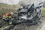 Dopravní nehoda na Studánce.