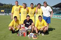 Vítězný tým JPS Gastro Vilémov