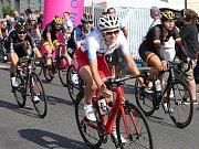 Dojezd první etapy ve Vanrsdorfu.