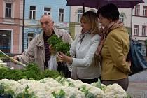 Po delší době se ve středu 29. září na děčínské Masarykovo náměstí vrátili trhovci.
