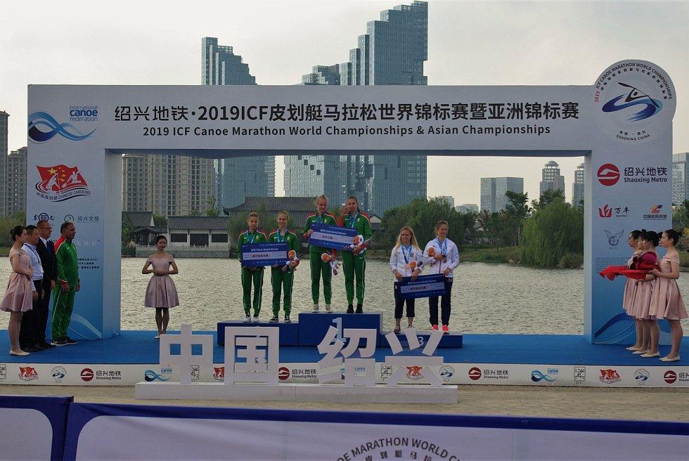 DĚČÍNŠTÍ KANOISTÉ zakončili sezónu na maratónském MS.