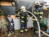 Hasiči likvidovali požár chaty v zahrádkářské kolonii ve Varnsdorfu.