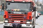 Žena doma kouřila, k ubytovně museli hasiči.
