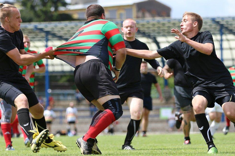 RUMBURSKÝ STADION byl svědkem ragbyového turnaje.