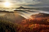 Národní park České Švýcarsko. Ilustrační foto.