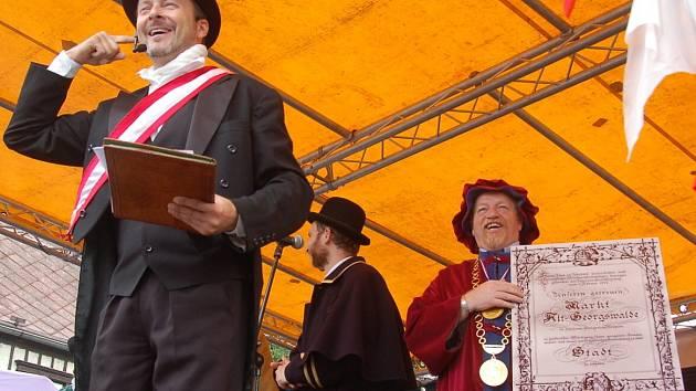 Jiříkov slavil sto let od povýšení na město.