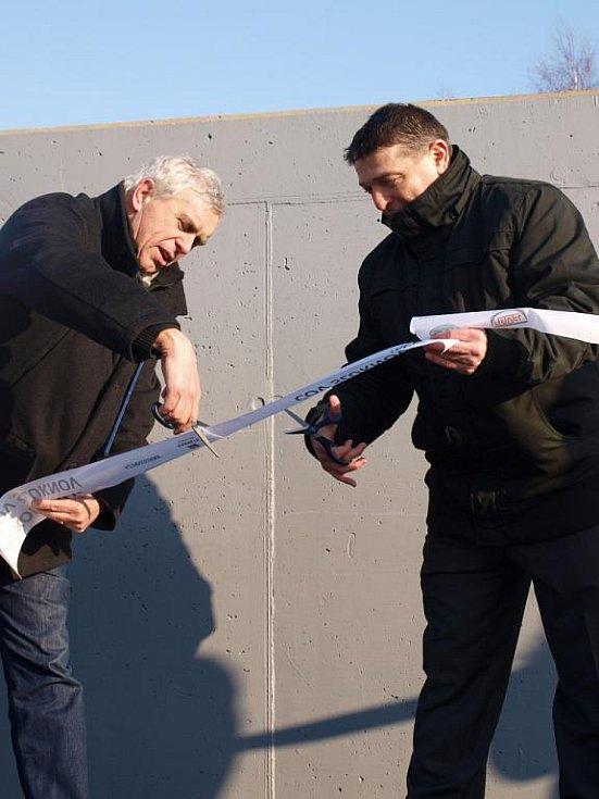 Čistička odpadních vod ve Šluknově.