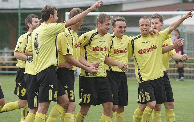Děčínští řezníci porazili doma Kladno B a připsali si tak další tři body.