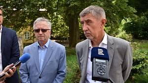 Premiér Andrej Babiš navštívil Děčín.