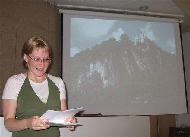 Projekt na úpravu prostředí kolem Pastýřské stěny představila magistrátu Alexandra Lapková.