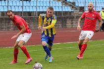 Varnsdorf slaví postup do osmifinále poháru. Doma porazil Brno 4:2 po prodloužení.
